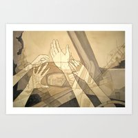 Moving Forward And Looki… Art Print