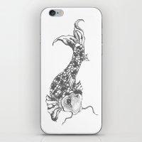 Grey Koi iPhone & iPod Skin
