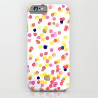 Watercolor Confetti! iPhone 6 Slim Case