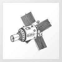 Satellite of Love Art Print