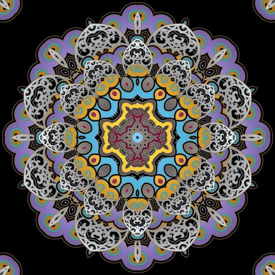 Soothing Mandala Art Print