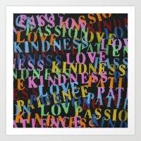 Love #1 Art Print