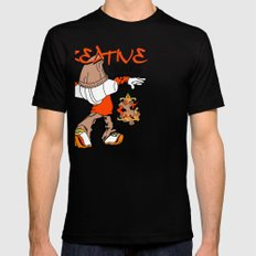 Creative Life Black SMALL Mens Fitted Tee
