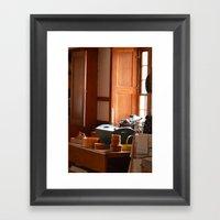 Shaker Kitchen Framed Art Print
