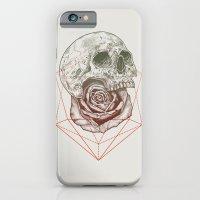 Skull Rose Geo iPhone 6 Slim Case