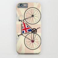 iPhone & iPod Case featuring Love Bike, Love Britain by Wyatt Design