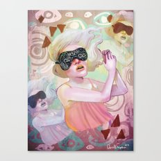 Dream another little dream Canvas Print