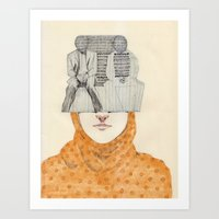 The Two Art Print