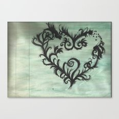 A thorn for every heart Canvas Print