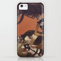 iPhone 5c Cases featuring War Cats by Lenka Simeckova