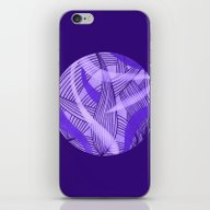 iPhone & iPod Skin featuring Purple Leaves by Sandyshow