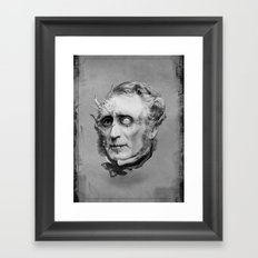 The Corrupted Man Framed Art Print
