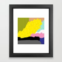 All The Way Framed Art Print