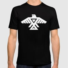Thunderbird flag - Inverse edition version SMALL Mens Fitted Tee Black