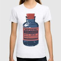Spice Trade Womens Fitted Tee Ash Grey SMALL