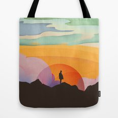 I Like to Watch the Sun Come Up Tote Bag
