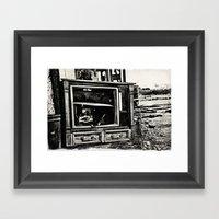 Static Age Framed Art Print
