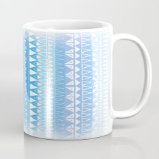 Triangle Gradient Aqua Mix Mug