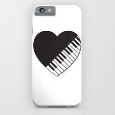 Piano Heart Slim Case iPhone 6s