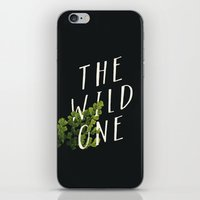 The Wild One iPhone & iPod Skin