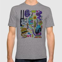 Very Special Things Mens Fitted Tee Athletic Grey SMALL