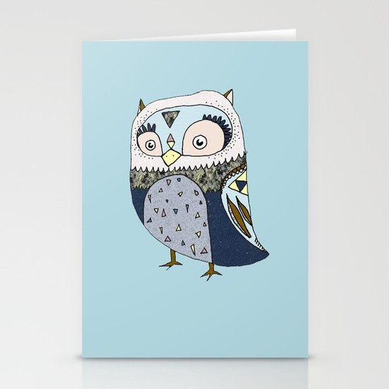 Counting Sheep Stationery Card