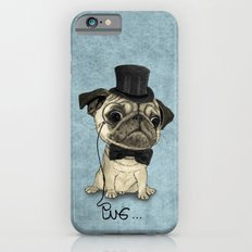 Pug; Gentle Pug (v3) iPhone 6 Slim Case