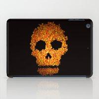 Candy Corn Skull iPad Case