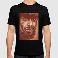 The Story Of G.S.Heron-3… Mens Fitted Tee Black SMALL