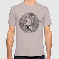 Not A Unicorn Mens Fitted Tee Cinder SMALL