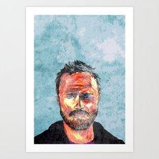 Pinkman Art Print