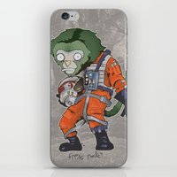 Flying Monkey iPhone & iPod Skin