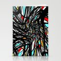 One Hell of a Mess Stationery Cards