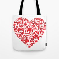 Gaming Love Tote Bag