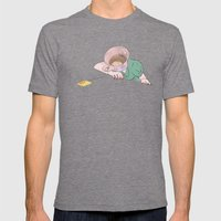 I SHOULD HAVE HAD THE COFFEE Mens Fitted Tee Tri-Grey SMALL