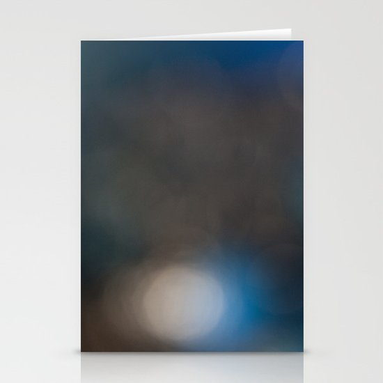 Abstract in Blue, No. 1 Stationery Card
