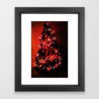 Christmas Tree. Framed Art Print