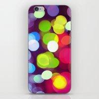 Light Dots iPhone & iPod Skin