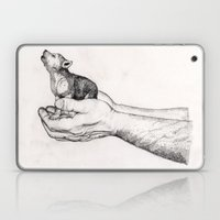 Wolf Cub // Graphite Laptop & iPad Skin