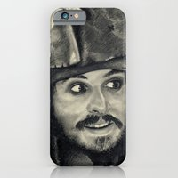 iPhone & iPod Case featuring Captain Jack Sparrow ~ Johnny Depp Traditional Portrait Print by bianca.ferrando