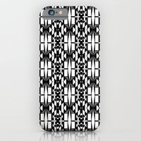 iPhone & iPod Case featuring Black and White 2 by Katherine Farah