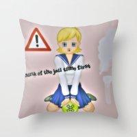 So Wrong Throw Pillow