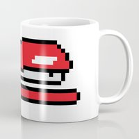 Pixel Space Mug