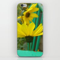 Green & Yellow Perspective iPhone & iPod Skin