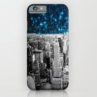 Starry Teal Night iPhone 6 Slim Case