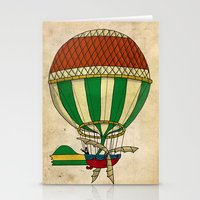 balloon Stationery Cards featuring Balloon by Janko Illustration