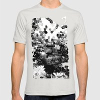 Sunspots 2 Mens Fitted Tee Silver SMALL