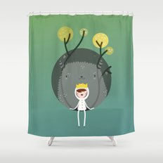 Where are the wild things? Shower Curtain