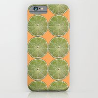 Lime Fruit Photo Print iPhone 6 Slim Case