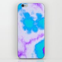 Splattered Sky iPhone & iPod Skin